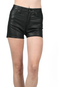 Tripp Highwaisted PVC Shorts