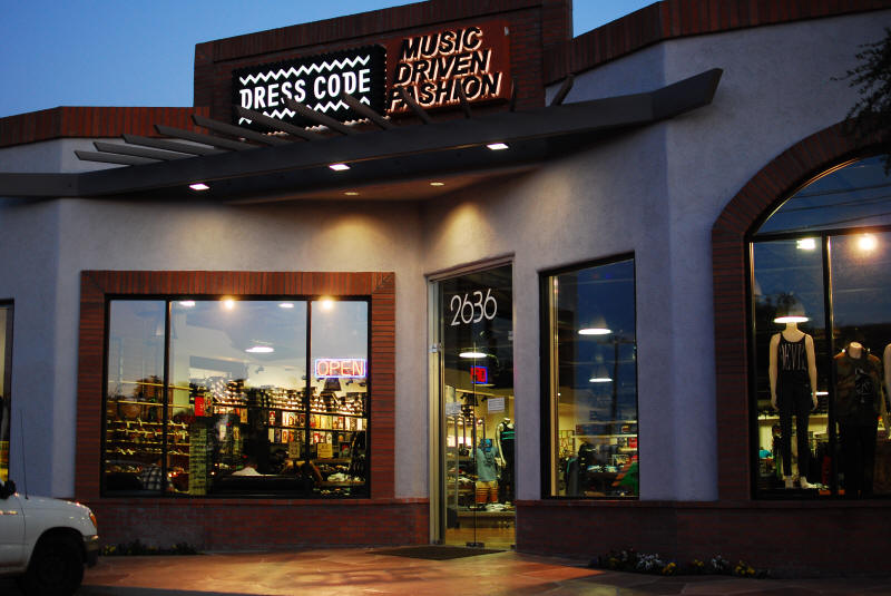 Dress Code Store Front